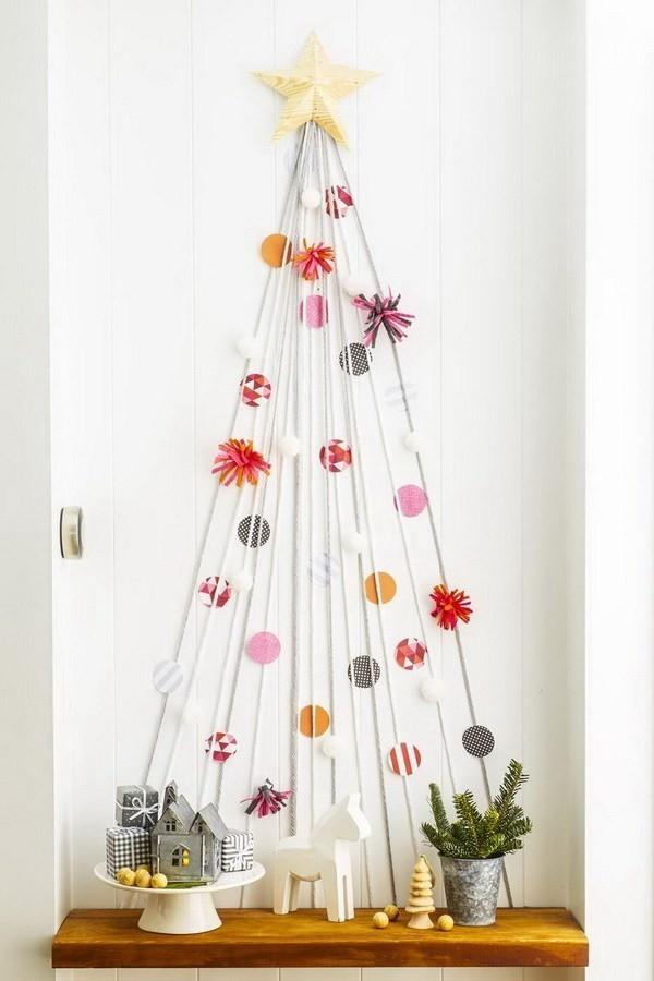 String-Christmas-Tree Elegant Christmas Decorating Ideas