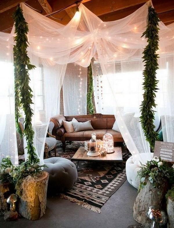 Bohemian-home-decor-ideas Chic Bohemian Interior Design Ideas