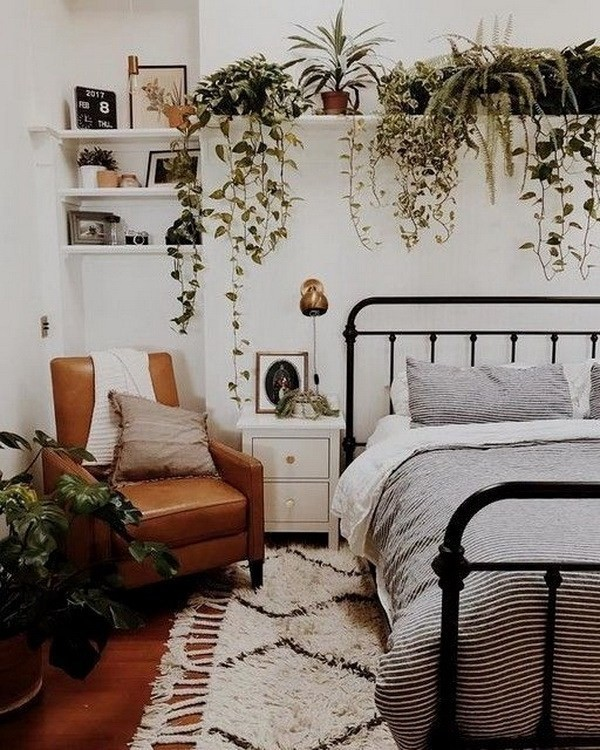 Bohemian-style-decor-for-bedroom Chic Bohemian Interior Design Ideas