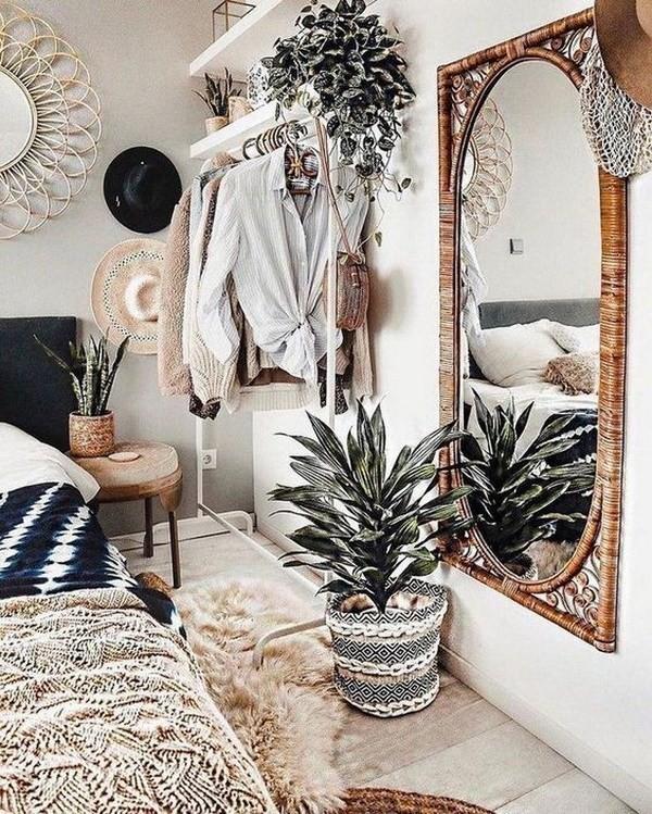 Boho-style-decor-for-bedroom Chic Bohemian Interior Design Ideas