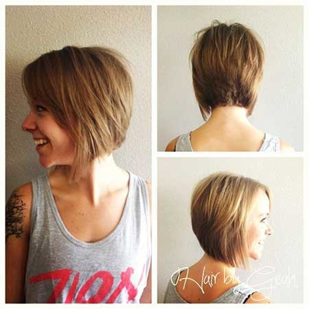 Cool-Inverted-Graduated-Bob-Haircut Best Bob Cuts for 2020