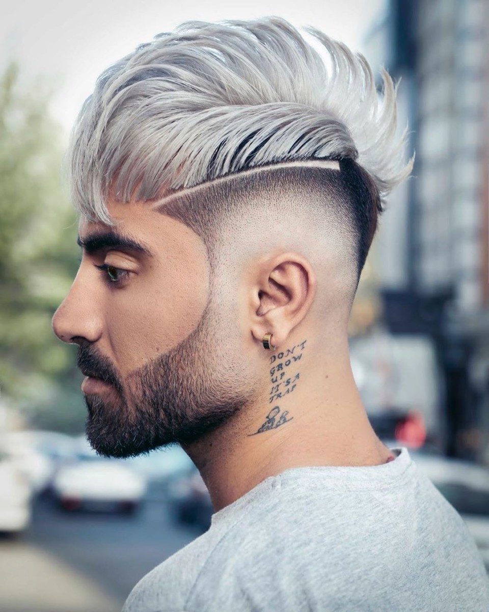 Cool-Mohawk-Style-with-an-Undercut Mens Hair Trends – Mens Hairstyles 2020