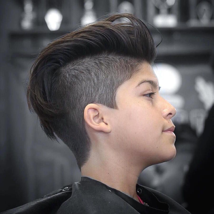 Cool-Pulled-Back-Hair-with-Undercut Mens Hair Trends – Mens Hairstyles 2020