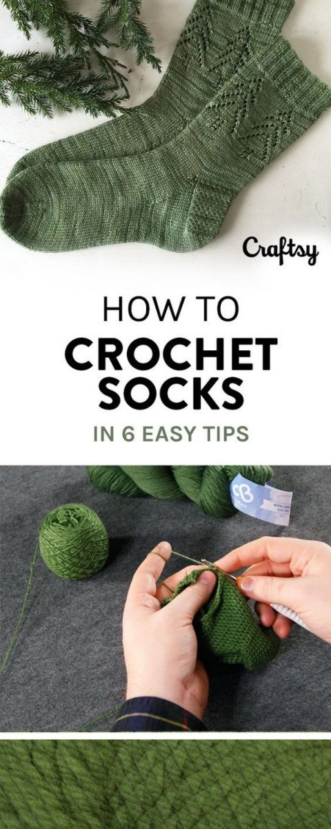 Crochet-Socks Easy Crochet Patterns And Projects For Beginners