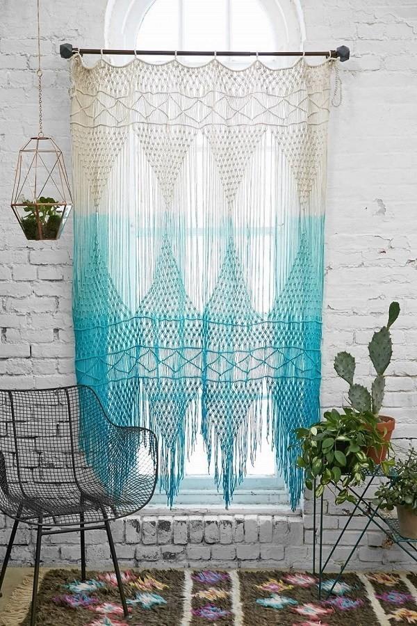 DIY-bohemian-tassel-curtains Chic Bohemian Interior Design Ideas