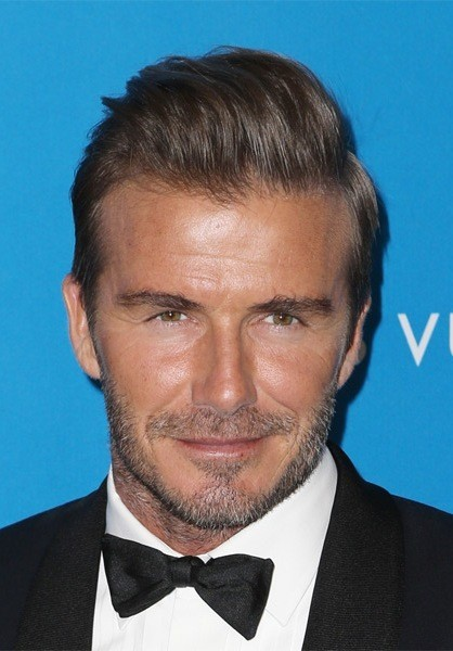 David-Beckham-Short-Straight-Hairstyles Most Coolest And Hottest Formal Haircuts For Men