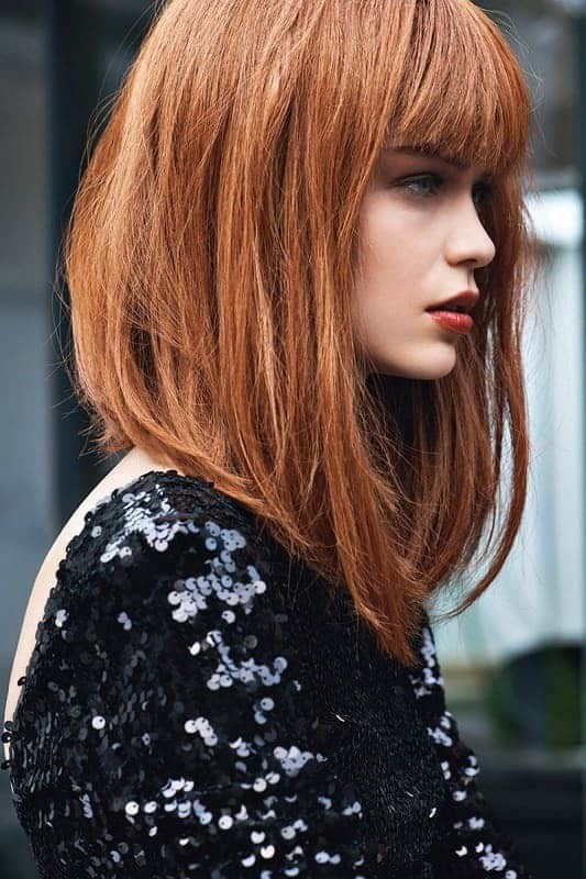Fringe 12 Breathtaking Long A-line Haircuts for Women 2020