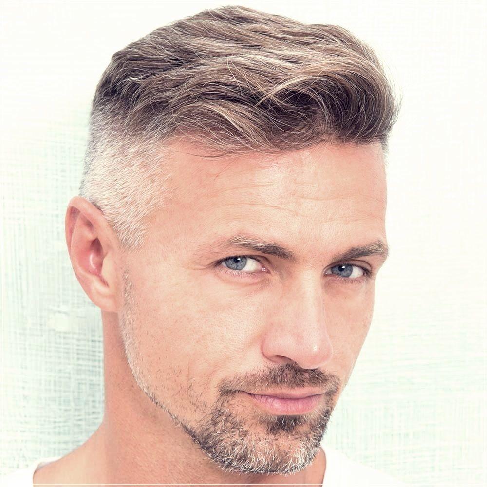Grey-Men's-Hairstyle Mens Hair Trends – Mens Hairstyles 2020