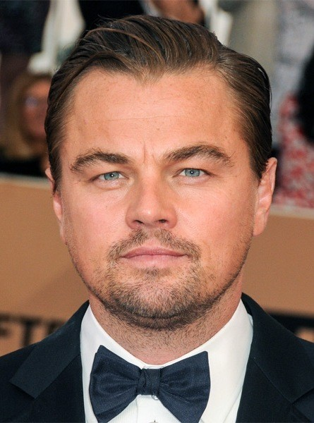 Leonardo-DiCaprio-Short-Straight-Hairstyle Most Coolest And Hottest Formal Haircuts For Men