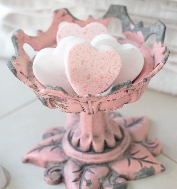 Love-Potion-Heart-Homemade-Bath-Bomb Sweet DIY Valentine's Day Decoration Ideas