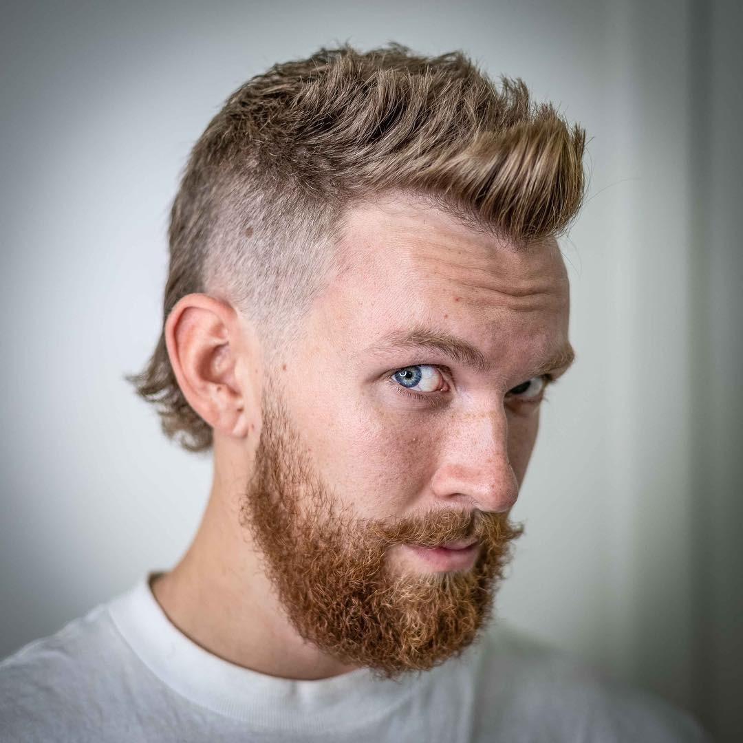 Mullet-Hairstyle-on-Blonde-Hair Mens Hair Trends – Mens Hairstyles 2020
