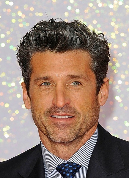 Patrick-Dempsey-Short-Wavy-Hairstyle Most Coolest And Hottest Formal Haircuts For Men