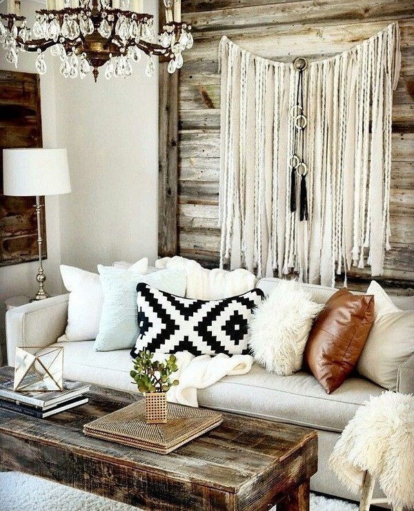 Rustic-bohemian-interior-design Chic Bohemian Interior Design Ideas