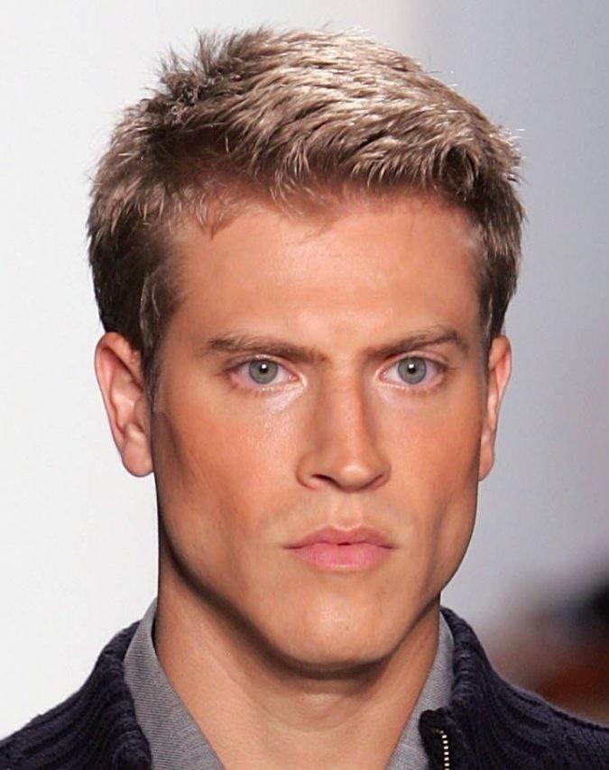 Short-Blonde-Men's-Hairstyle Mens Hair Trends – Mens Hairstyles 2020