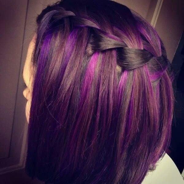 Waterfall-Braid 12 Breathtaking Long A-line Haircuts for Women 2020