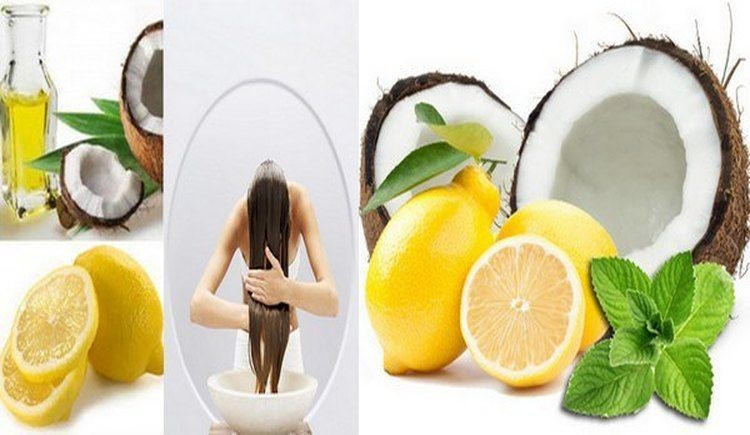Coconut-Oil-with-Lemon-Juice How to Use Coconut Oil for Dandruff