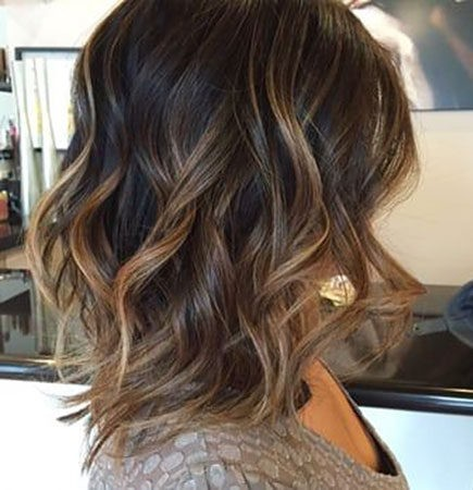 Hair-Color-Ideas-for-Short-Hair-004-ohfree.net_ Popular Balayage Hair Color Ideas for Short Hair