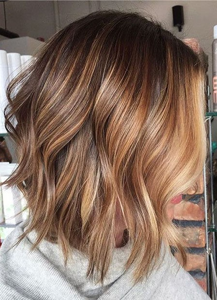 Hair-Color-Ideas-for-Short-Hair-006-ohfree.net_ Popular Balayage Hair Color Ideas for Short Hair
