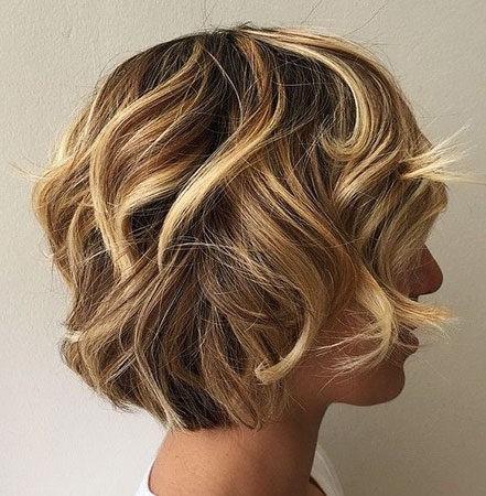 Hair-Color-Ideas-for-Short-Hair-010-ohfree.net_ Popular Balayage Hair Color Ideas for Short Hair