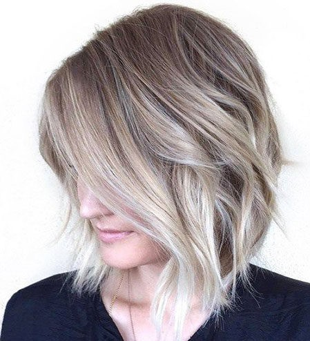 Hair-Color-Ideas-for-Short-Hair-012-ohfree.net_ Popular Balayage Hair Color Ideas for Short Hair