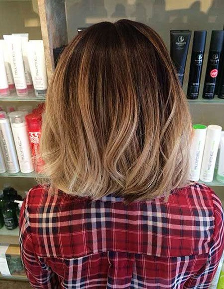 Hair-Color-Ideas-for-Short-Hair-016-ohfree.net_ Popular Balayage Hair Color Ideas for Short Hair