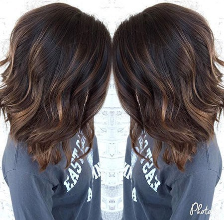 Hair-Color-Ideas-for-Short-Hair-018-ohfree.net_ Popular Balayage Hair Color Ideas for Short Hair