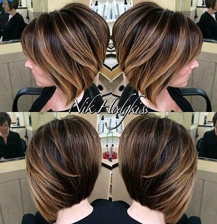 Hair-Color-Ideas-for-Short-Hair-020-ohfree.net_ Popular Balayage Hair Color Ideas for Short Hair