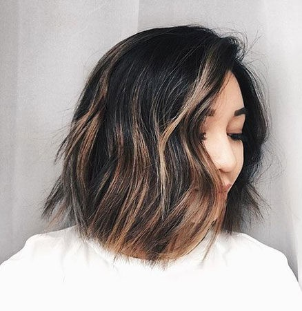 Hair-Color-Ideas-for-Short-Hair-023-ohfree.net_ Popular Balayage Hair Color Ideas for Short Hair