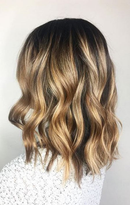 Hair-Color-Ideas-for-Short-Hair-024-ohfree.net_ Popular Balayage Hair Color Ideas for Short Hair