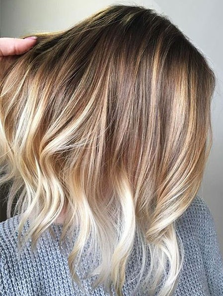 Hair-Color-Ideas-for-Short-Hair-026-ohfree.net_ Popular Balayage Hair Color Ideas for Short Hair