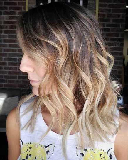 Hair-Color-Ideas-for-Short-Hair-027-ohfree.net_ Popular Balayage Hair Color Ideas for Short Hair