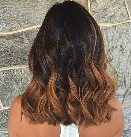 Hair-Color-Ideas-for-Short-Hair-028-ohfree.net_ Popular Balayage Hair Color Ideas for Short Hair