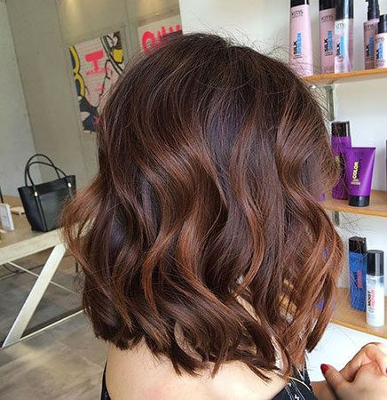 Hair-Color-Ideas-for-Short-Hair-029-ohfree.net_ Popular Balayage Hair Color Ideas for Short Hair