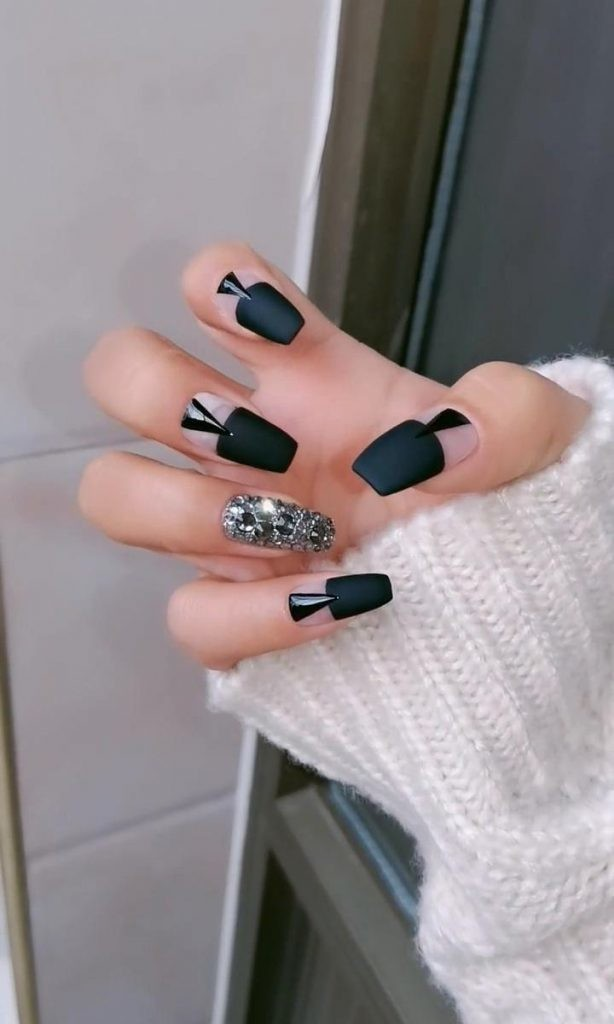 Matte-Nail-Art-Ideas-1 2020 Nail Trends to Inspire Your Next Manicure #1 -  DIY Nails Compilation