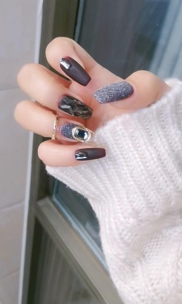 Matte-Nail-Art-Ideas-3 2020 Nail Trends to Inspire Your Next Manicure #1 -  DIY Nails Compilation