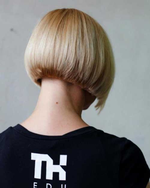Back-view-of-bob-hair 2020 Short Bob Haircuts for Women