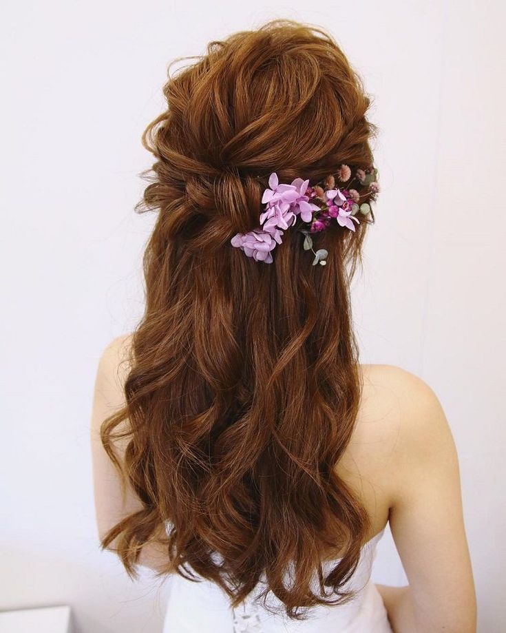 Bridal-Hair-Ideas-To-Look-Fabulous-006-ohfree.net_ Bridal Hair Ideas To Look Fabulous On Your Wedding Day