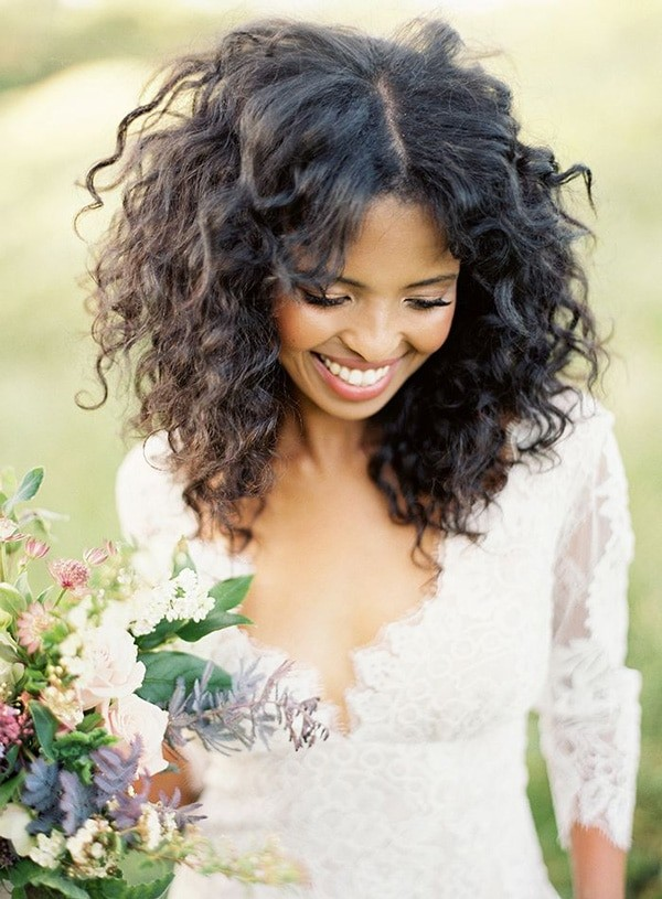 Bridal-Hair-Ideas-To-Look-Fabulous-009-ohfree.net_ Bridal Hair Ideas To Look Fabulous On Your Wedding Day