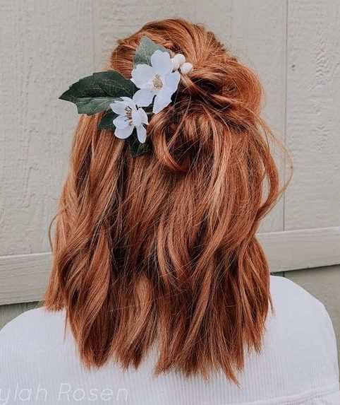 Bridal-Hair-Ideas-To-Look-Fabulous-014-ohfree.net_ Bridal Hair Ideas To Look Fabulous On Your Wedding Day