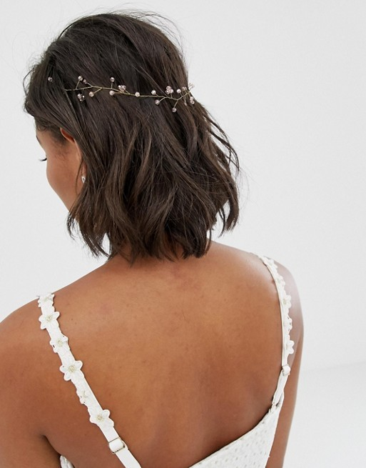 Bridal-Hair-Ideas-To-Look-Fabulous-017-ohfree.net_ Bridal Hair Ideas To Look Fabulous On Your Wedding Day