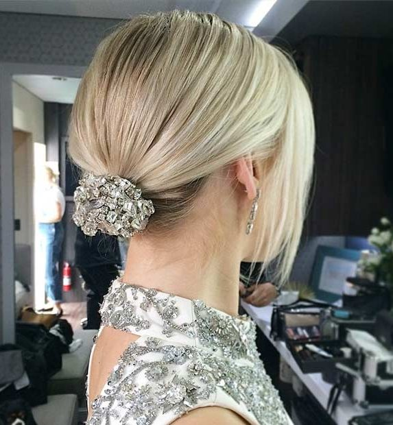 Bridal-Hair-Ideas-To-Look-Fabulous-018-ohfree.net_ Bridal Hair Ideas To Look Fabulous On Your Wedding Day