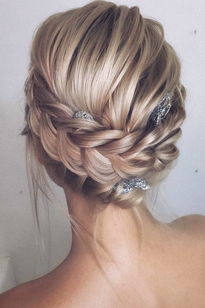 Bridal-Hair-Ideas-To-Look-Fabulous-020-ohfree.net_ Bridal Hair Ideas To Look Fabulous On Your Wedding Day
