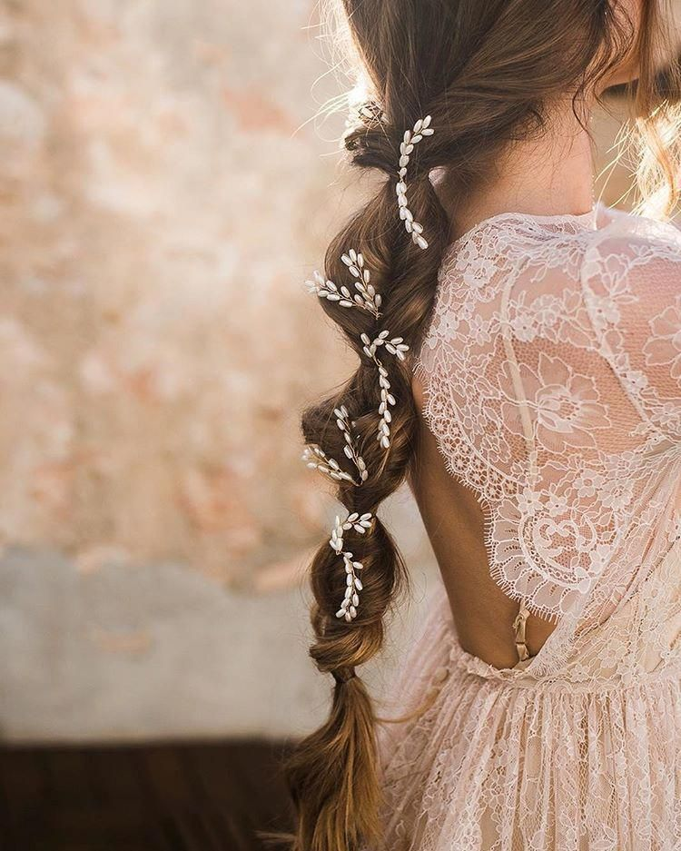 Bridal-Hair-Ideas-To-Look-Fabulous-023-ohfree.net_ Bridal Hair Ideas To Look Fabulous On Your Wedding Day