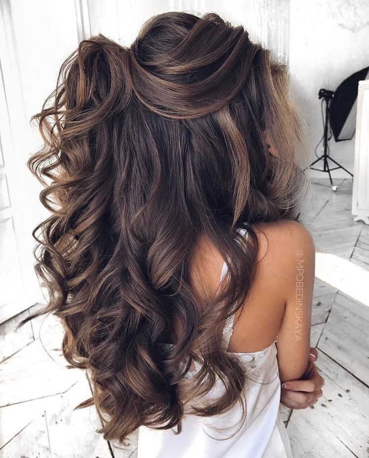 Bridal-Hair-Ideas-To-Look-Fabulous-026-ohfree.net_ Bridal Hair Ideas To Look Fabulous On Your Wedding Day