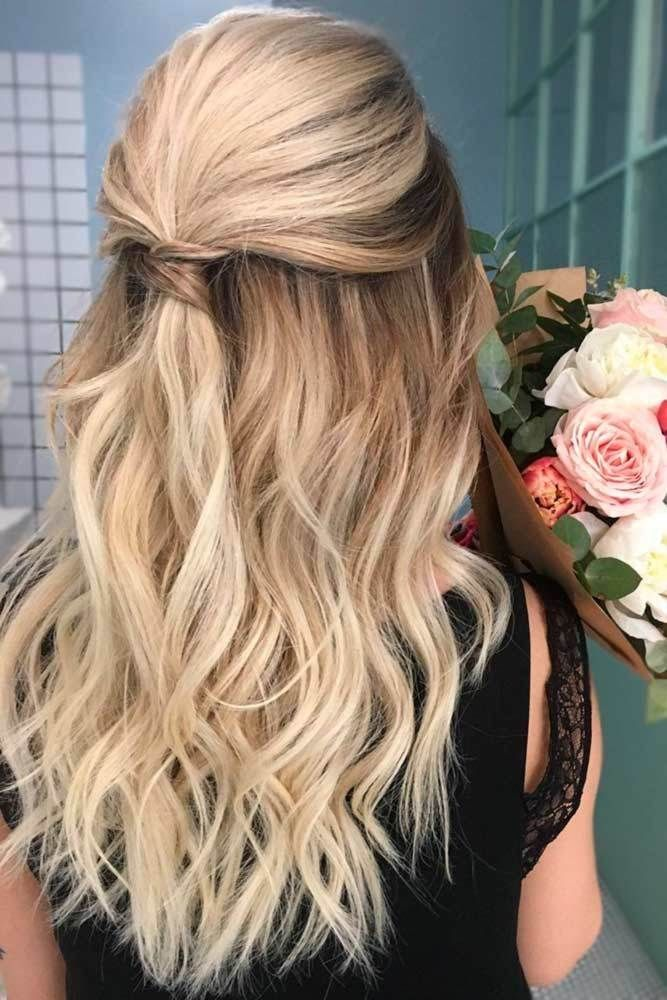 Bridal-Hair-Ideas-To-Look-Fabulous-027-ohfree.net_ Bridal Hair Ideas To Look Fabulous On Your Wedding Day