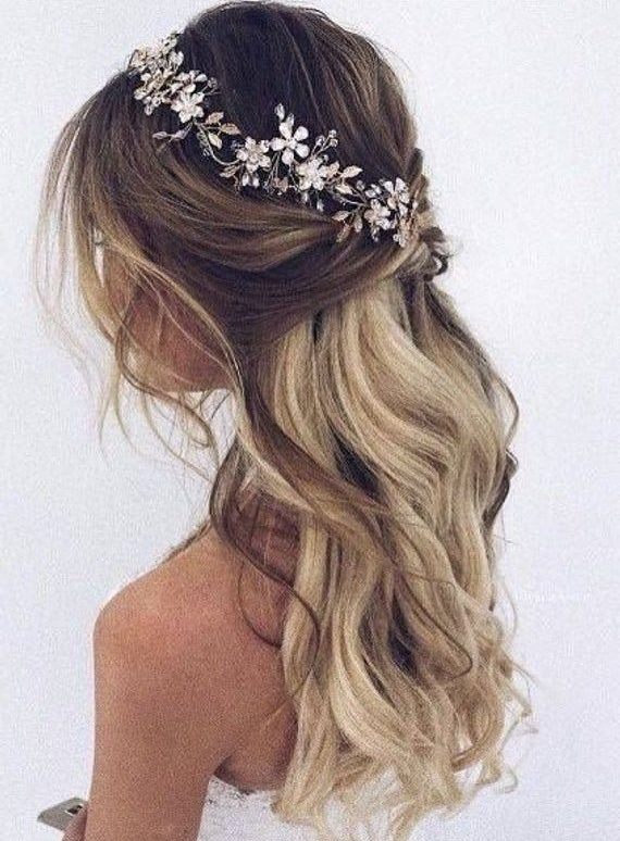 Bridal-Hair-Ideas-To-Look-Fabulous-032-ohfree.net_ Bridal Hair Ideas To Look Fabulous On Your Wedding Day