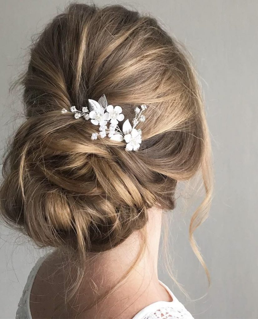 Bridal-Hair-Ideas-To-Look-Fabulous-034-ohfree.net_ Bridal Hair Ideas To Look Fabulous On Your Wedding Day