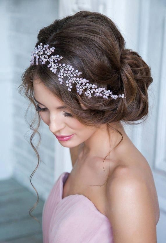 Bridal-Hair-Ideas-To-Look-Fabulous-035-ohfree.net_ Bridal Hair Ideas To Look Fabulous On Your Wedding Day