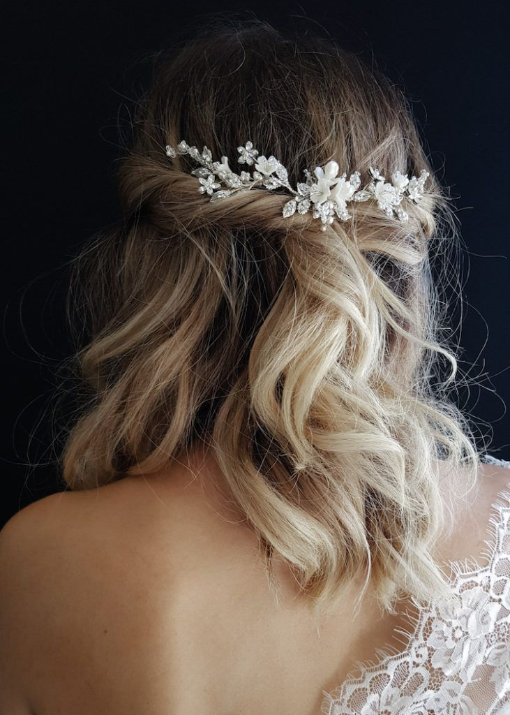 Bridal-Hair-Ideas-To-Look-Fabulous-037-ohfree.net_ Bridal Hair Ideas To Look Fabulous On Your Wedding Day