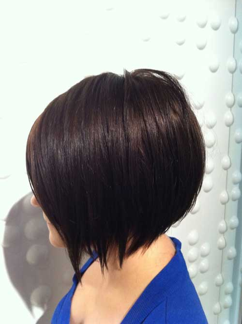 Dark-bob-haircuts 2020 Short Bob Haircuts for Women